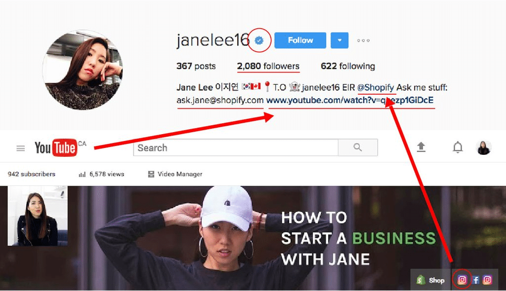 Janelee16 IG 1024x590 - How to Get Verified Instagram Account?