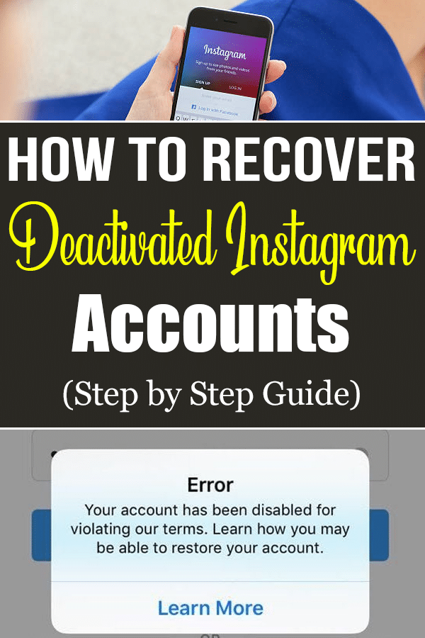 Recovering Your Disabled Instagram Account