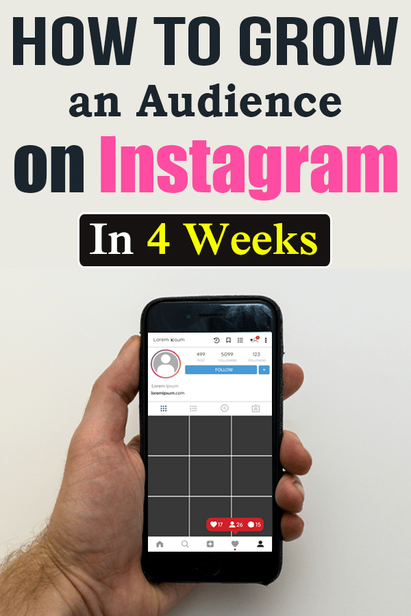 Grow an Audience on Instagram In