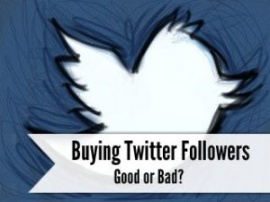 Should You Buy Twitter Followers